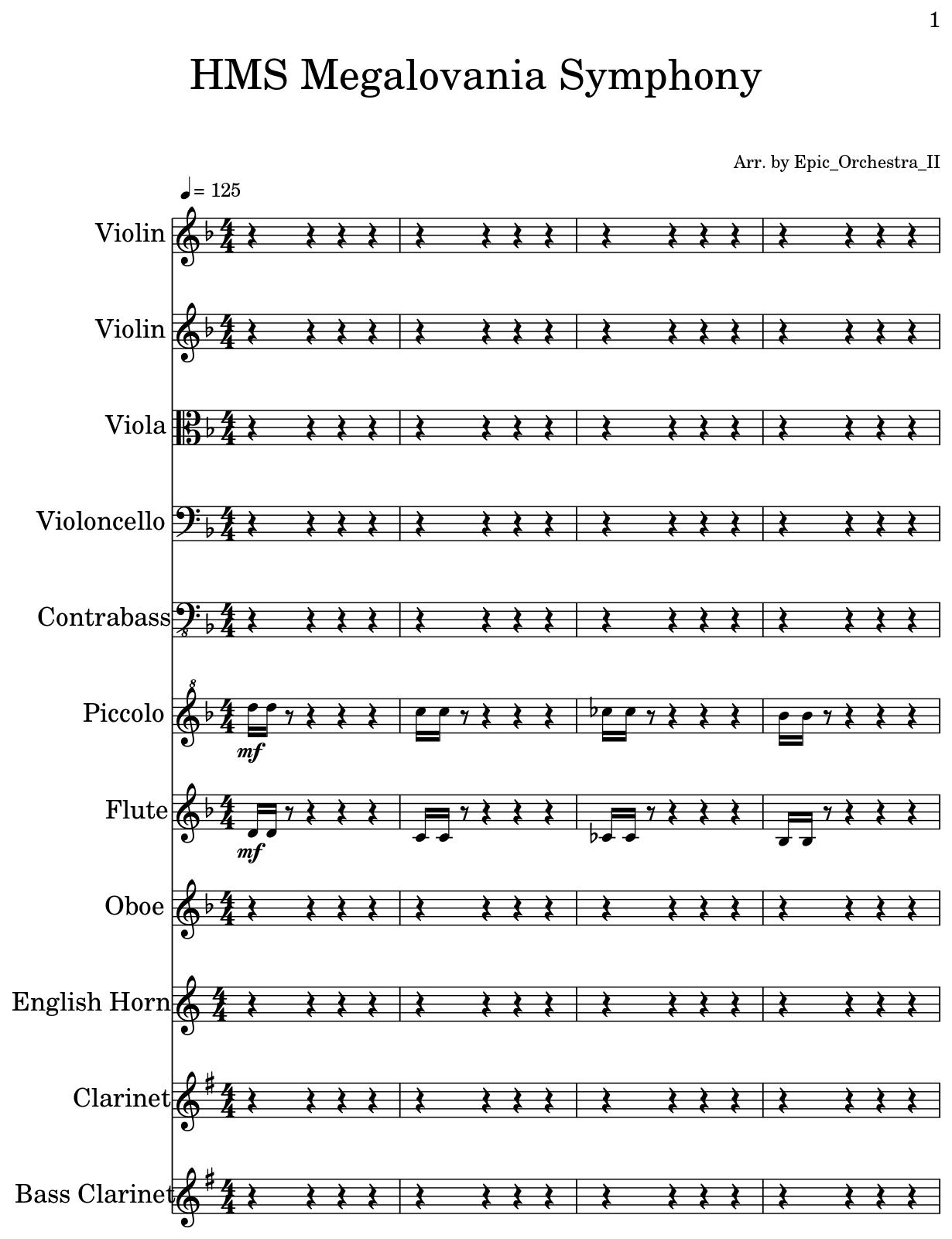Megalovania Sheet Music Violin Dragonsfootball17