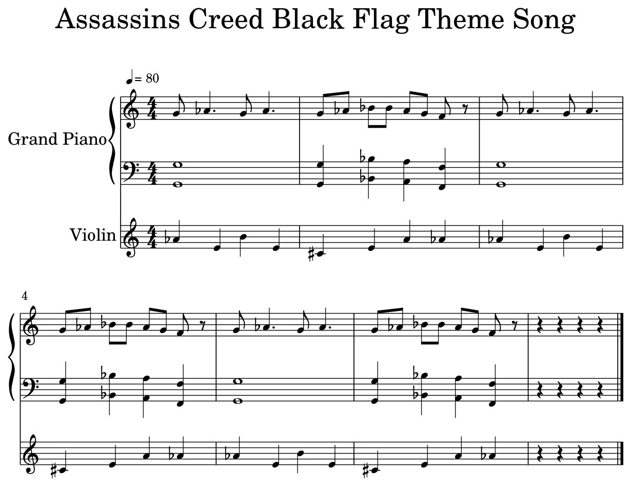 Assassins Creed Black Flag Theme Song