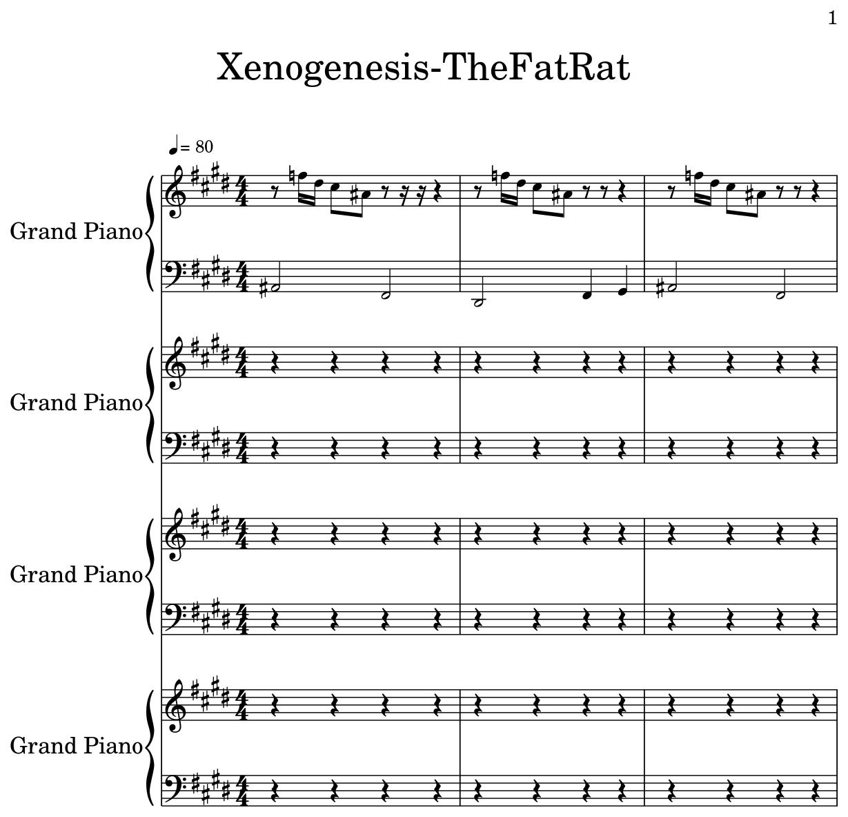 Xenogenesis Thefatrat Flat