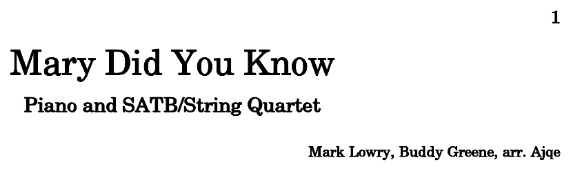 Sheet Music For Knowing Me Knowing You: Sheet Music For Piano, Violin, Viola