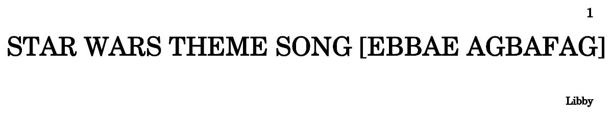 star wars theme song full version