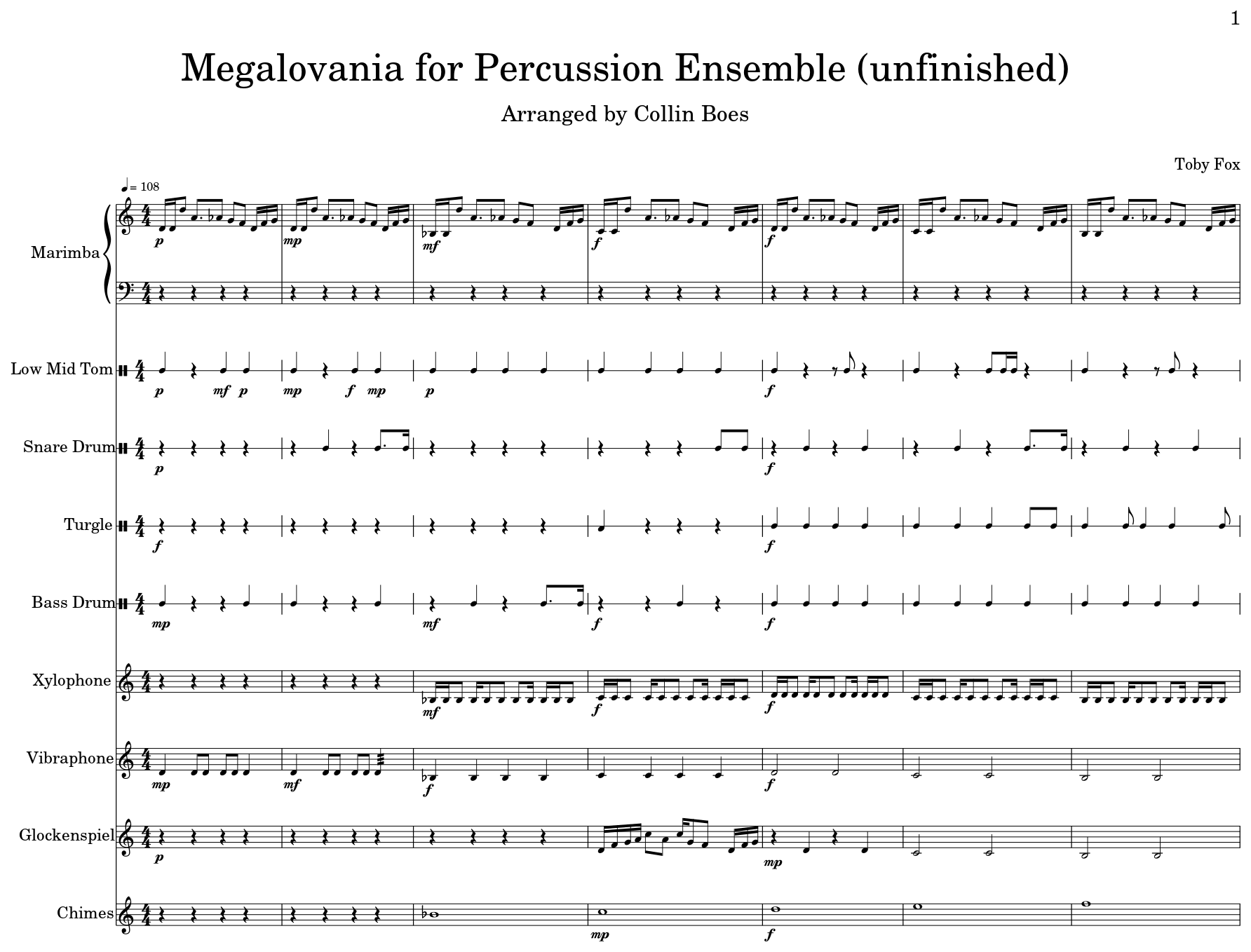 Megalovania P – Meta Morphoz