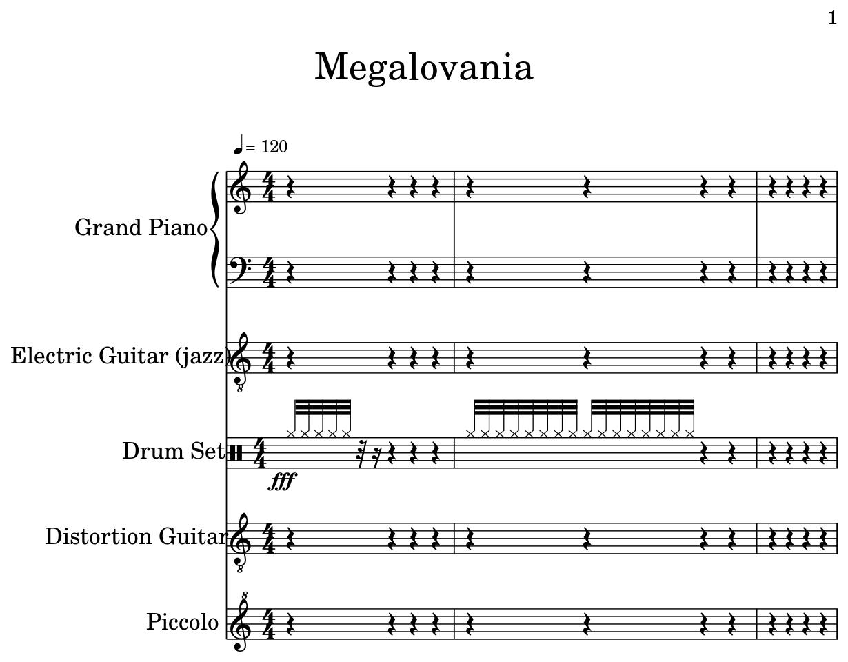 Megalovania - Flat