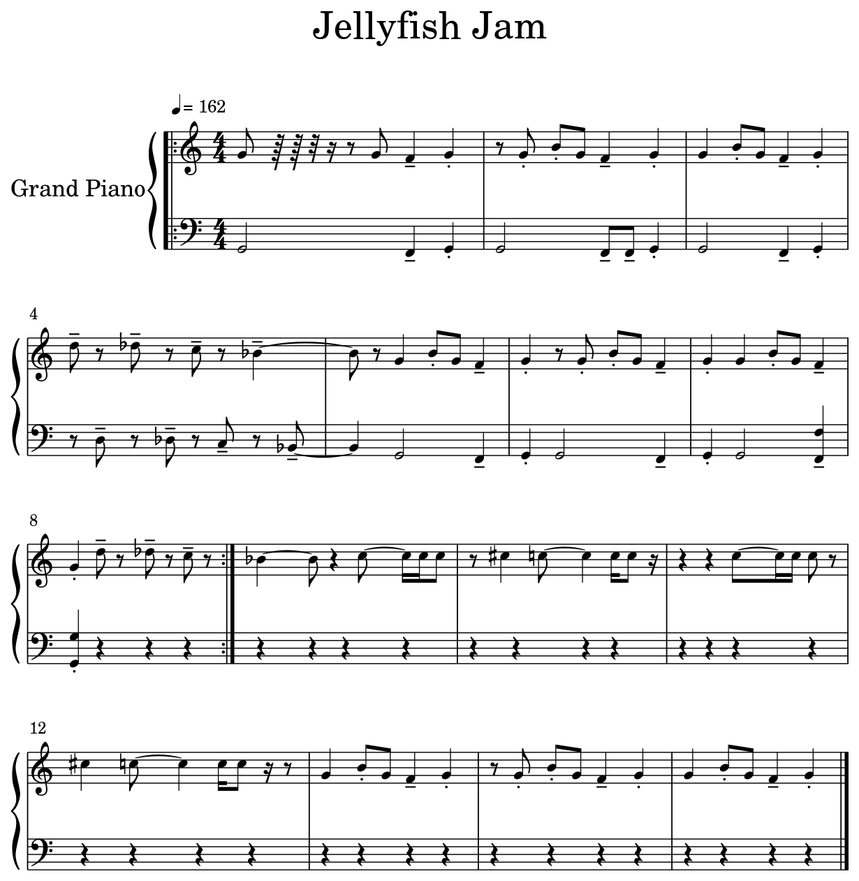 Jellyfish Jam - Flat