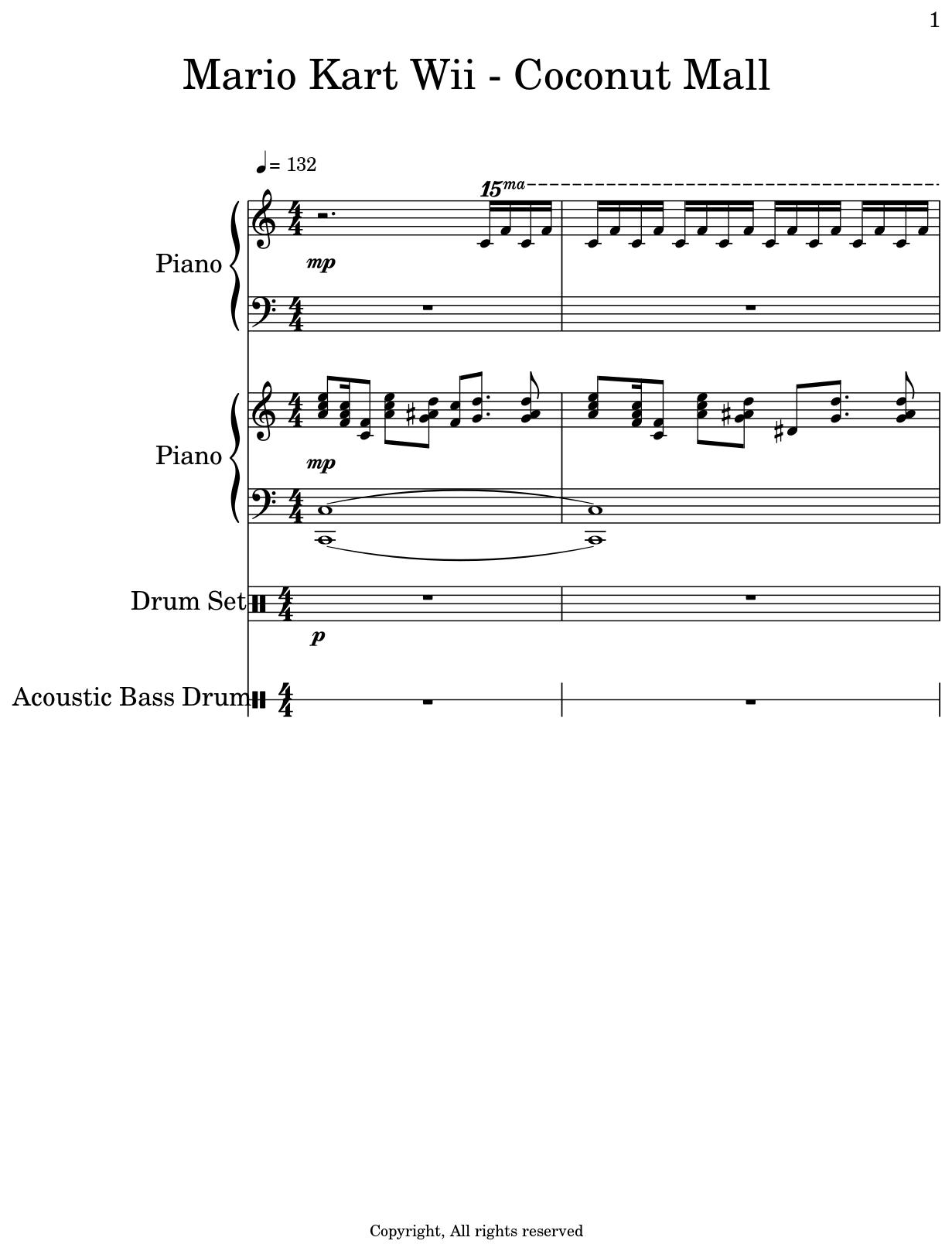 wii music piano
