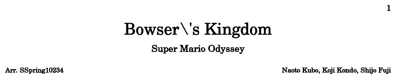 super mario odyssey bowsers kingdom