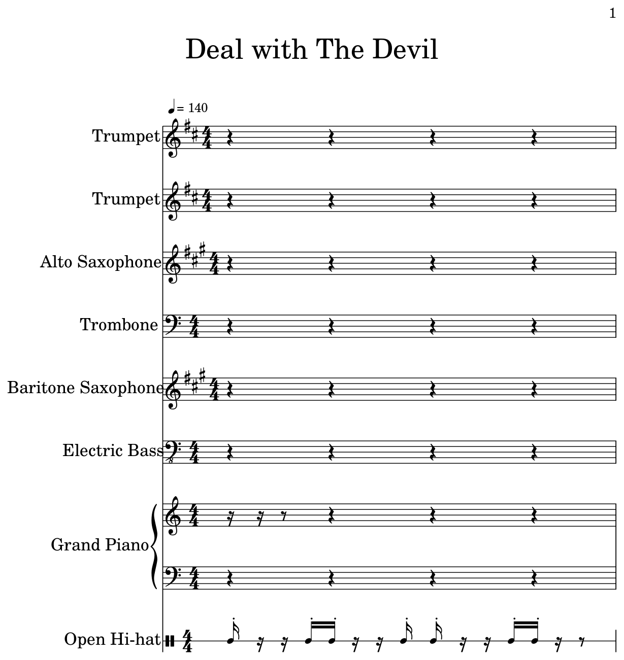 Deal with The Devil - Flat