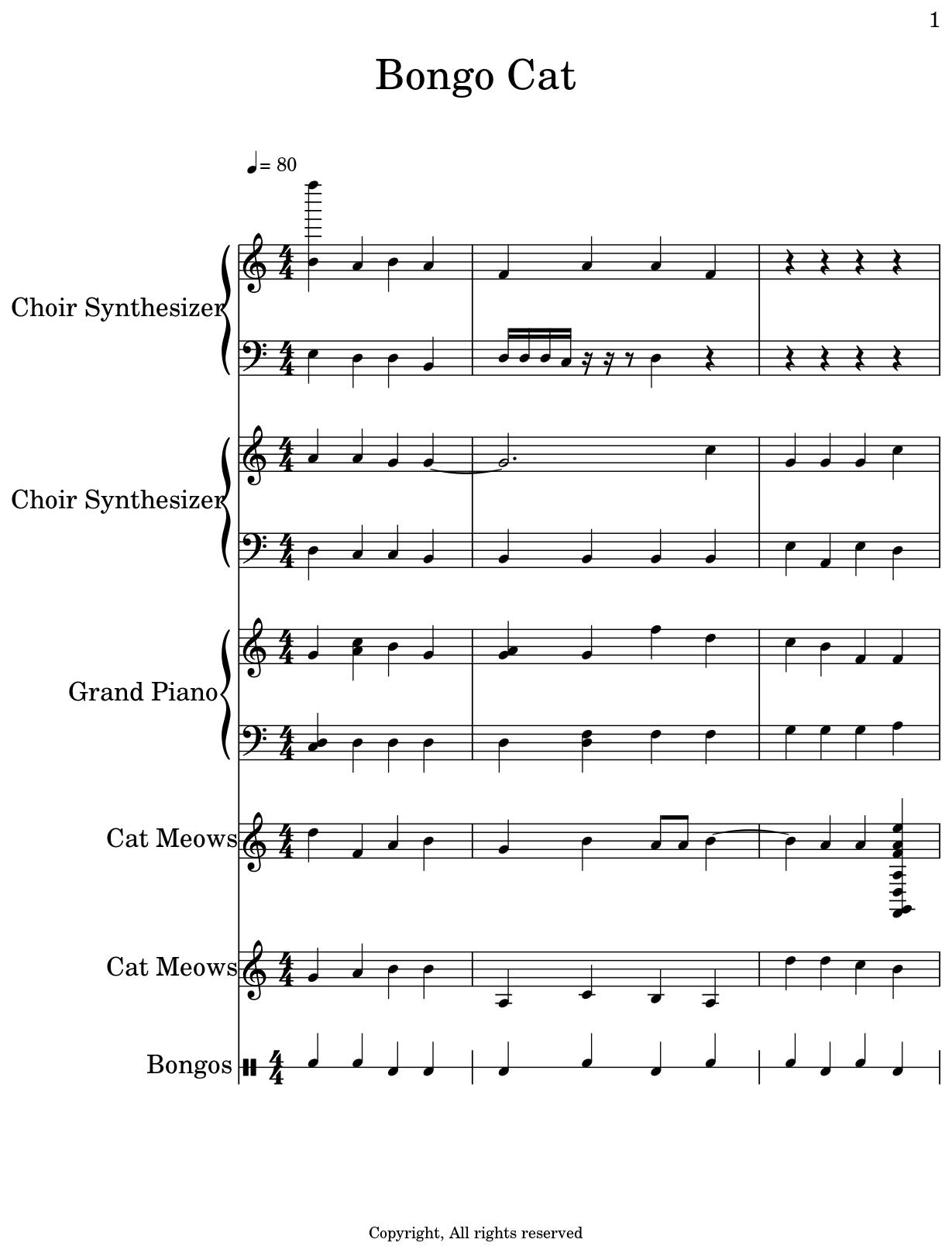 Lets Go Meme Piano Sheet Music