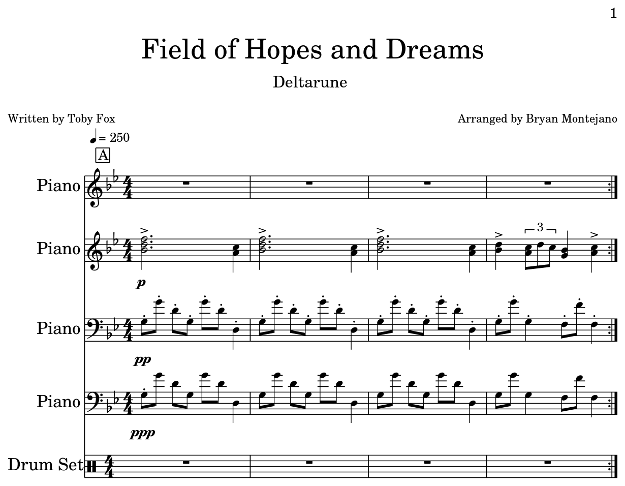 Field of Hopes and Dreams - Flat