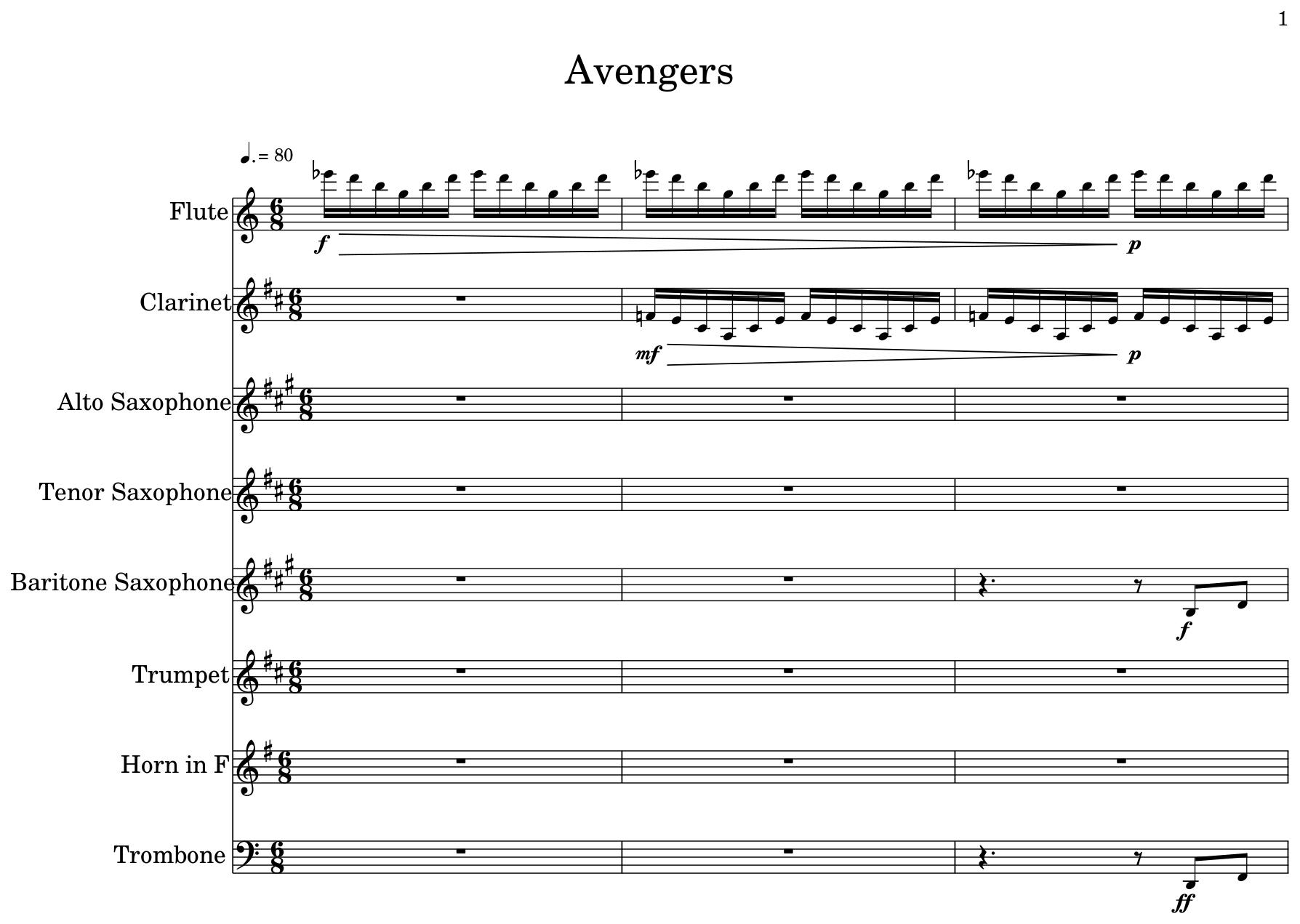 Avengers - Flat
